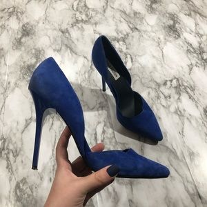 STEVE MADDEN Varcityy Pointed Toe Pumps